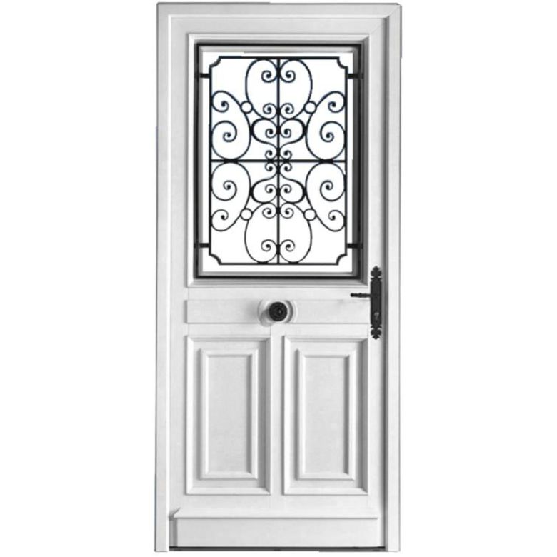 Porte d 39 entr e mansart pvc portes for Dimension standard porte d entree