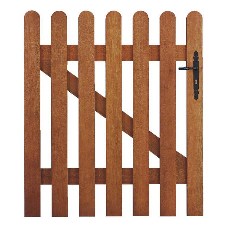 Bien choisir un portillon bois pas cher conseils et prix - Portillon jardin bois ...
