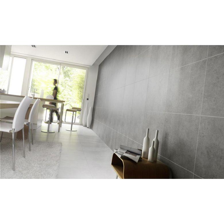 Lambris pvc element premium gris salle de bains - Carrelage faible epaisseur lapeyre ...
