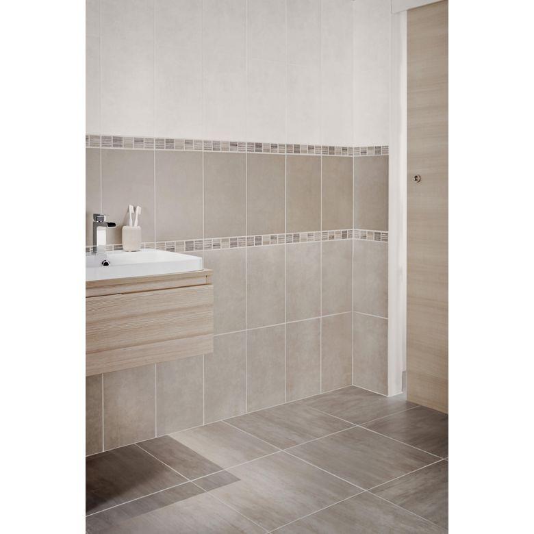 Carrelage dedicace 25 x 40 cm sols murs - Salle de bain italienne lapeyre ...
