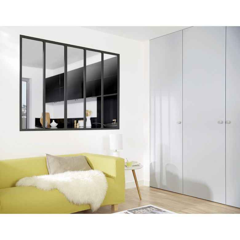verri re d 39 atelier noire portes. Black Bedroom Furniture Sets. Home Design Ideas