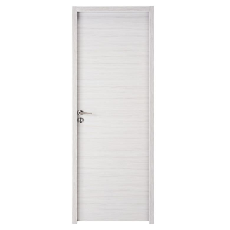 Bloc porte variation blanc caramel structur thermique for Porte interieur 63 cm