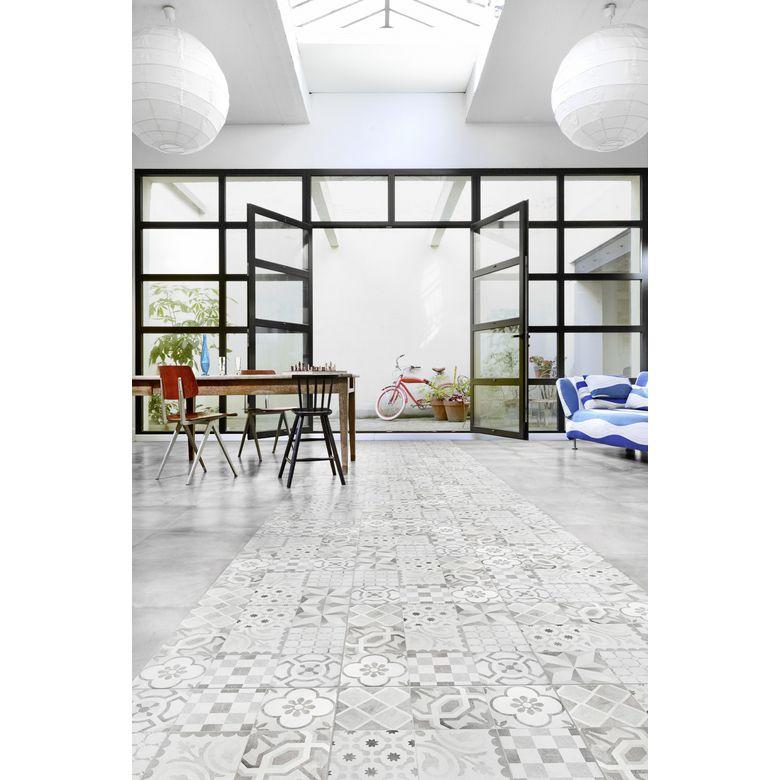 Carrelage devon 45 x 45 cm sols murs - Carrelage effet carreau ciment ...