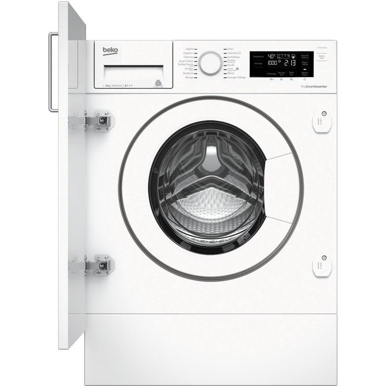 Lave-linge full intégrable BekoWITC8410B0W