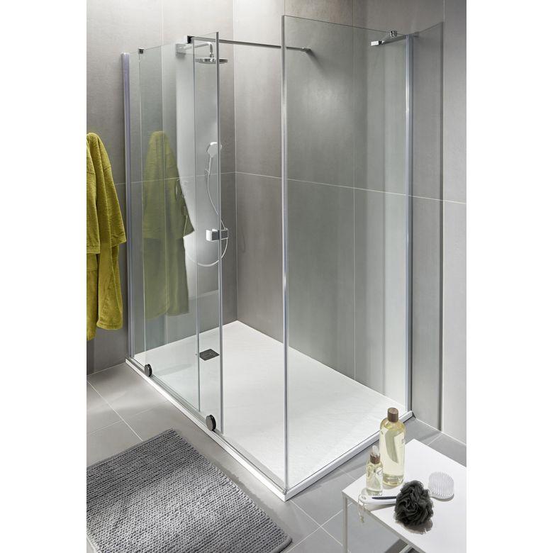 Paroi de retour maxxi salle de bains - Douche italienne lapeyre ...