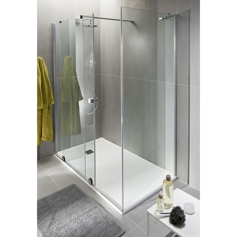 Castorama paroi de douche fixe maison design - Castorama paroi de douche ...