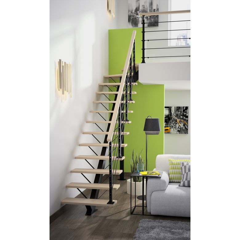 escalier tournant haut. Black Bedroom Furniture Sets. Home Design Ideas