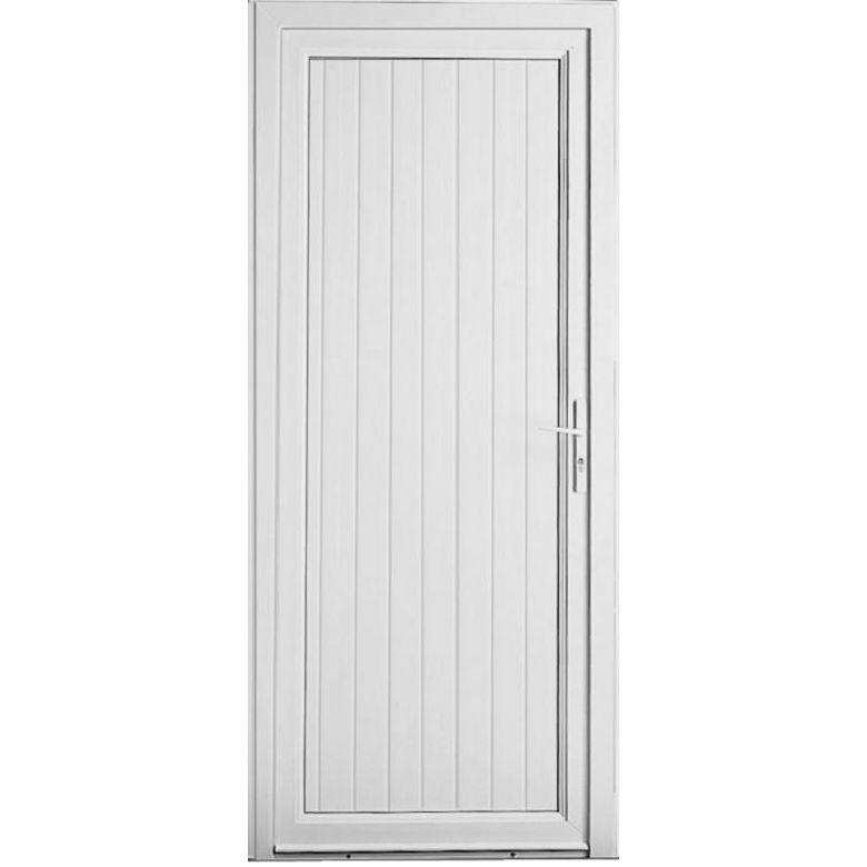 Porte de service ol ron pvc portes for Lapeyre porte de service isolante