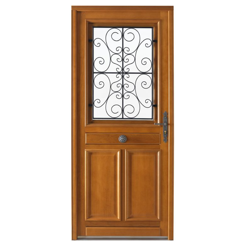 Porte d 39 entr e beaugency bois exotique menuis portes for Joint de porte d entree