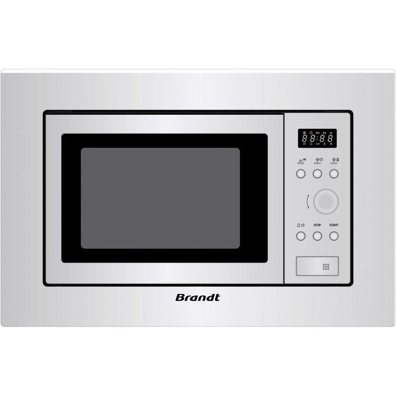 Micro-ondes encastrable pour meuble haut inox Brandt BMS6112X