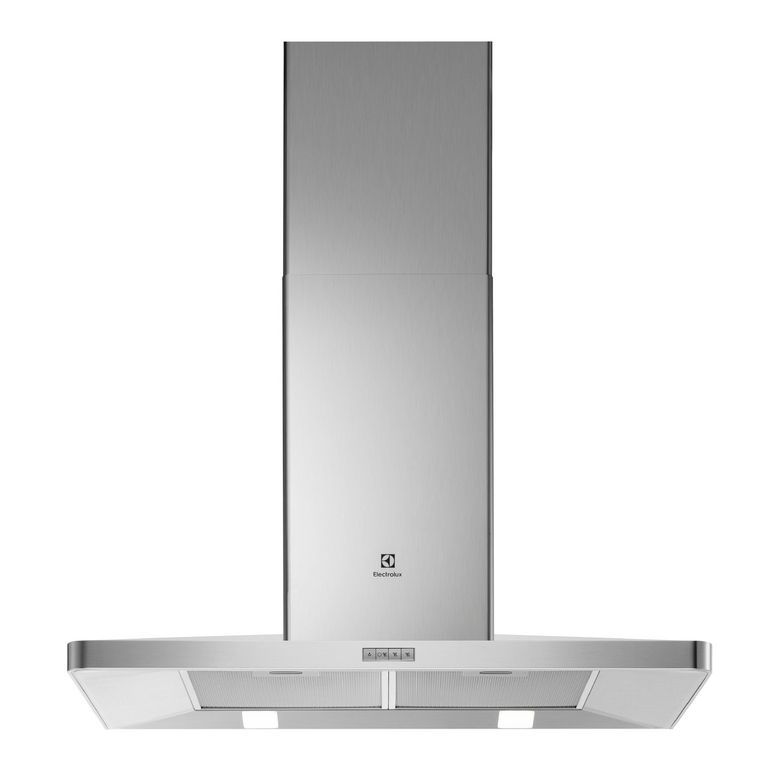 Hotte triangulaire blanc Electrolux EFF90462OW l.90