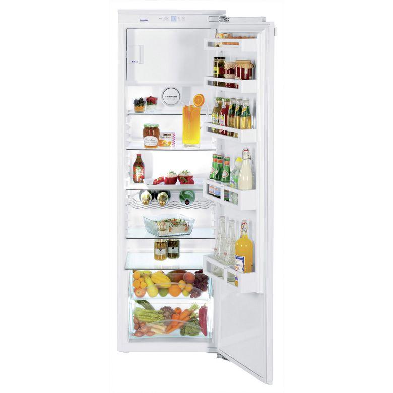Réfrigérateur monoporte intégrable à charnières pantographe Liebherr IK3524