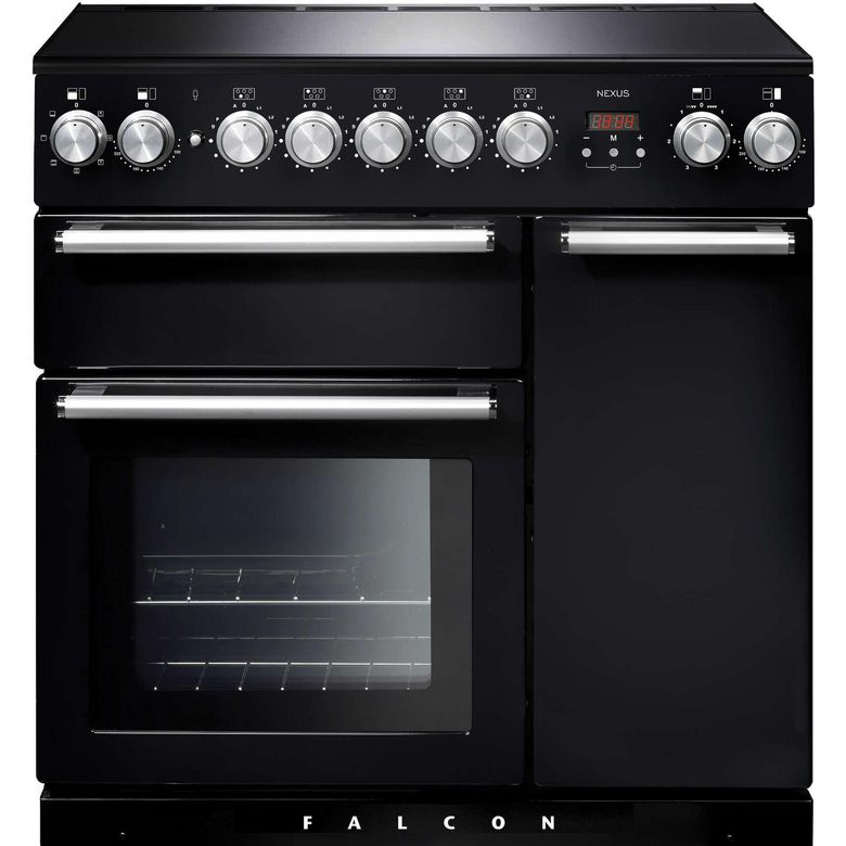 Piano de cuisson induction noir Falcon NEX90EIBL/C-EU