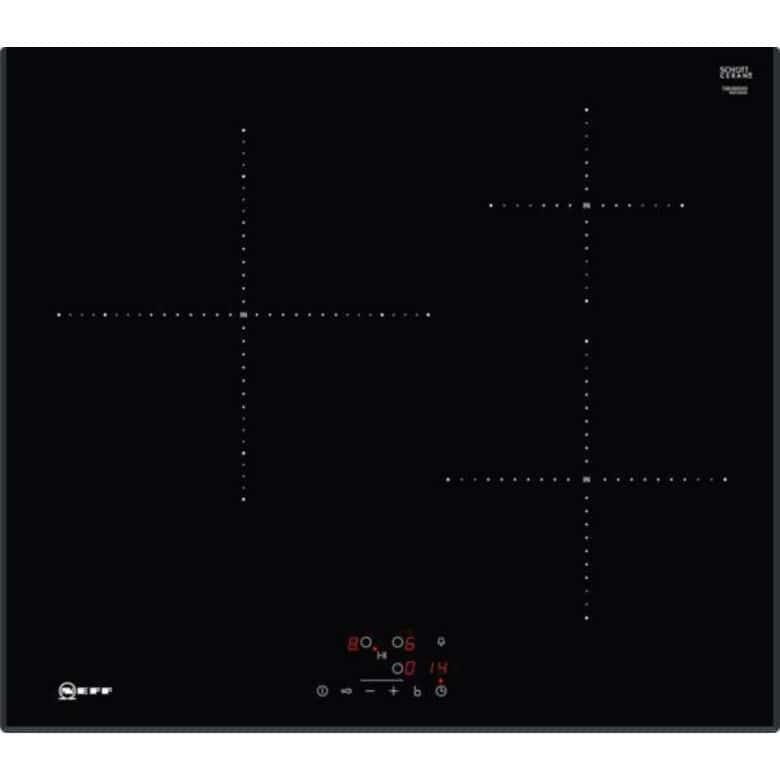 Table induction noir 3 foyers Neff T46UB20X0
