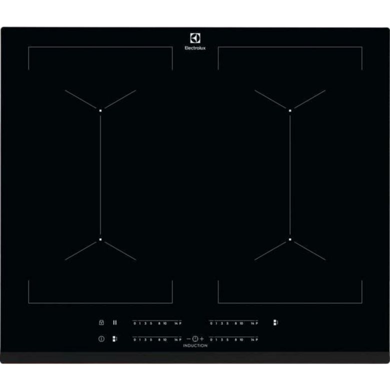 Table induction modulable noir 4 foyers Electrolux IPE6454KF