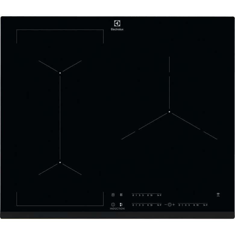 Table induction modulable noir 3 foyers Electrolux EIV63343