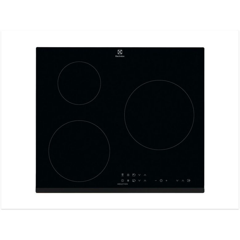 Table induction noir 3 foyers Electrolux CIT60330BK