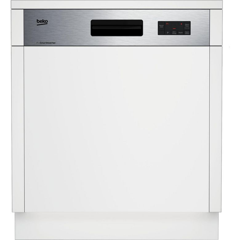 Lave-vaisselle intégrable inox Beko PDSN25311X