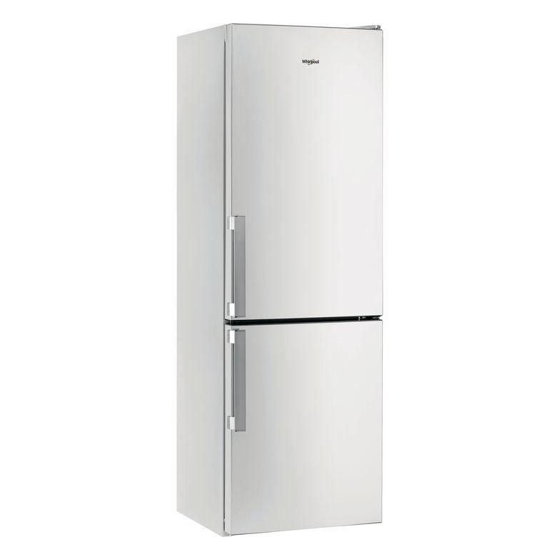 Réfrigérateur congélateur combiné pose libre inox Whirlpool W5821COX2