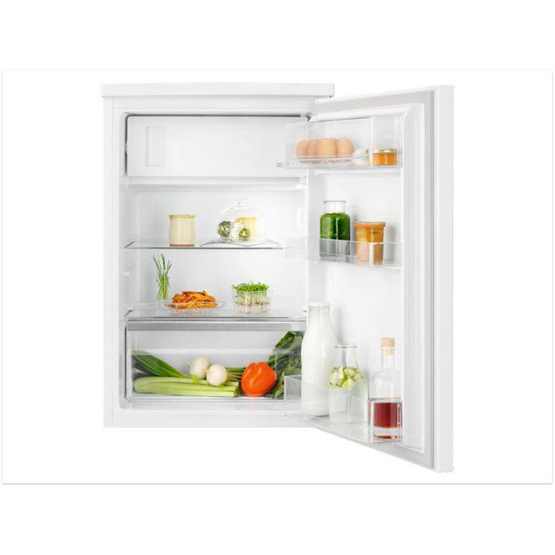 Réfrigérateur congélateur table top pose libre blanc Electrolux LXB1SF11W0
