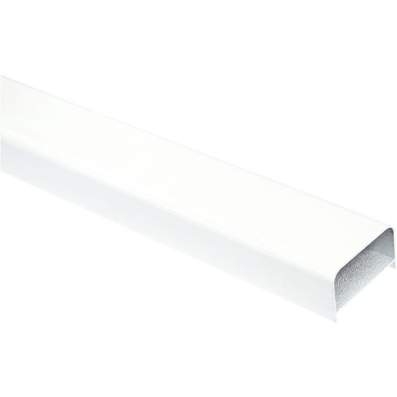 - Matière : Alu - Coloris : blanc ou gris - Dimensions : L.250 X H. 7,4 Ep. 4,5 cm - Poids : 2,5 Kg