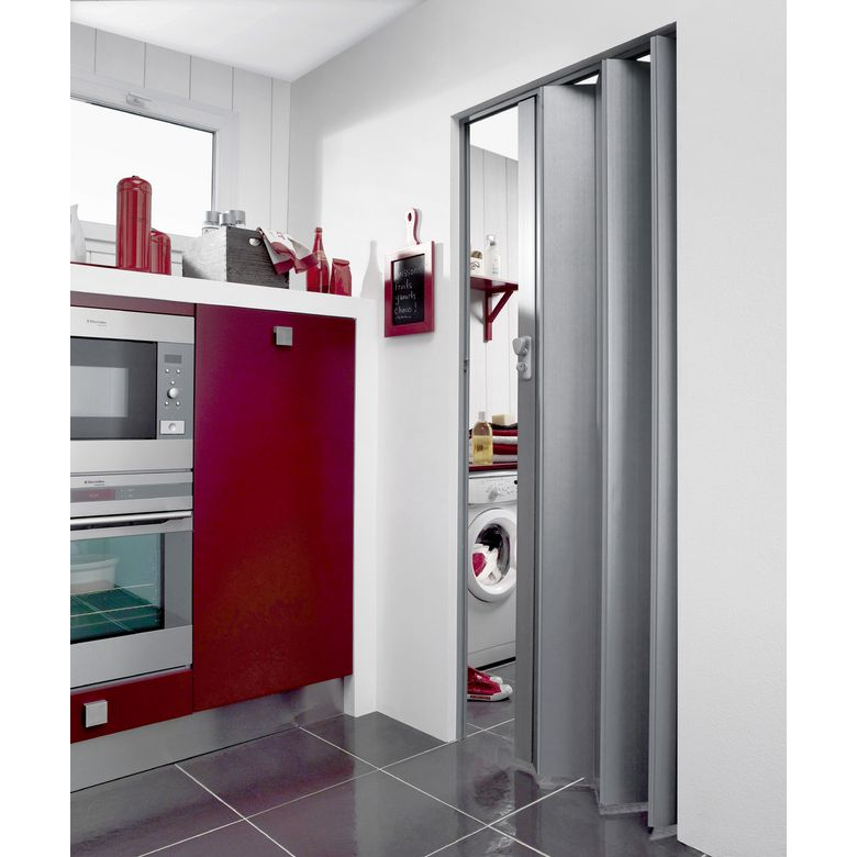 Portes extensibles pvc portes for Lapeyre porte accordeon