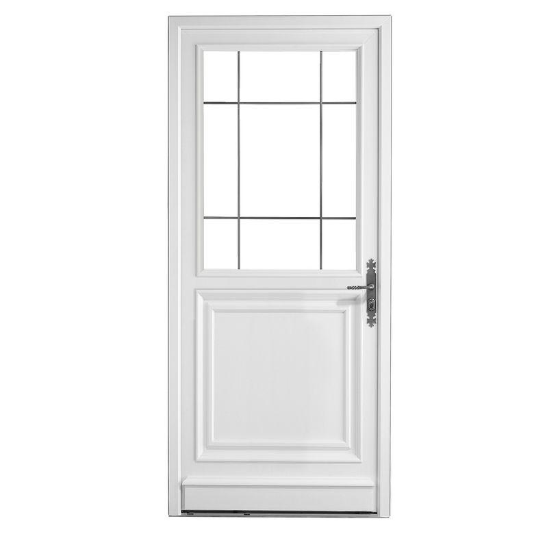 Porte d 39 entr e artigny pvc portes for Porte d entree hormann prix