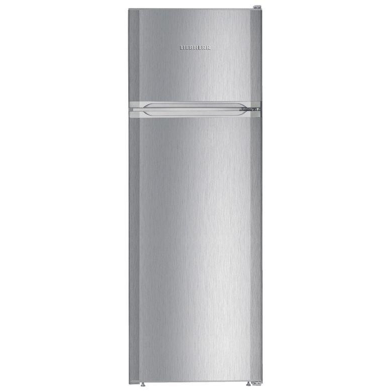 Réfrigérateur congélateur double porte pose libre inox Liebherr CTPEL251-21