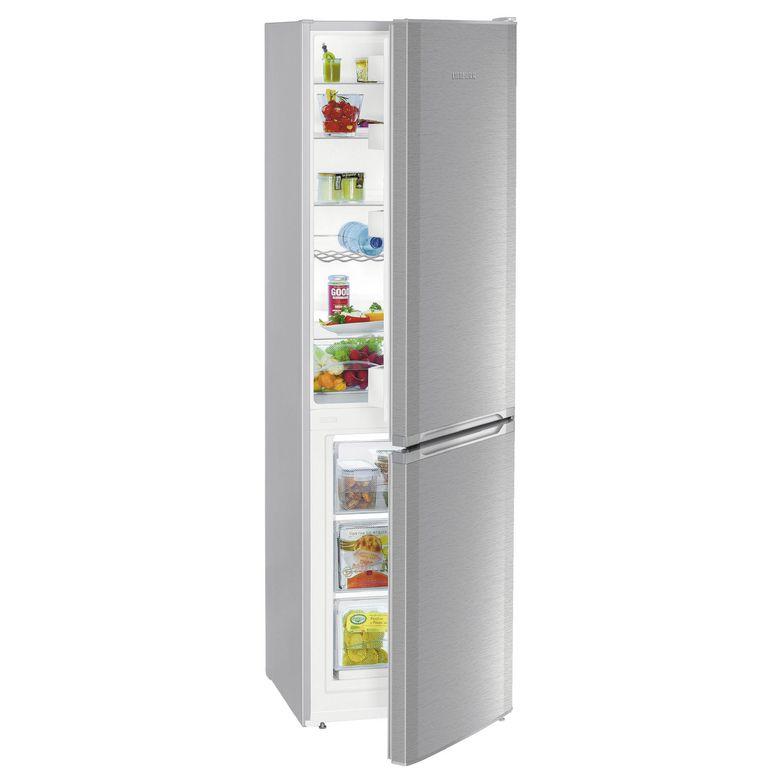Réfrigérateur congélateur combiné pose libre inox Liebherr CUEF 331