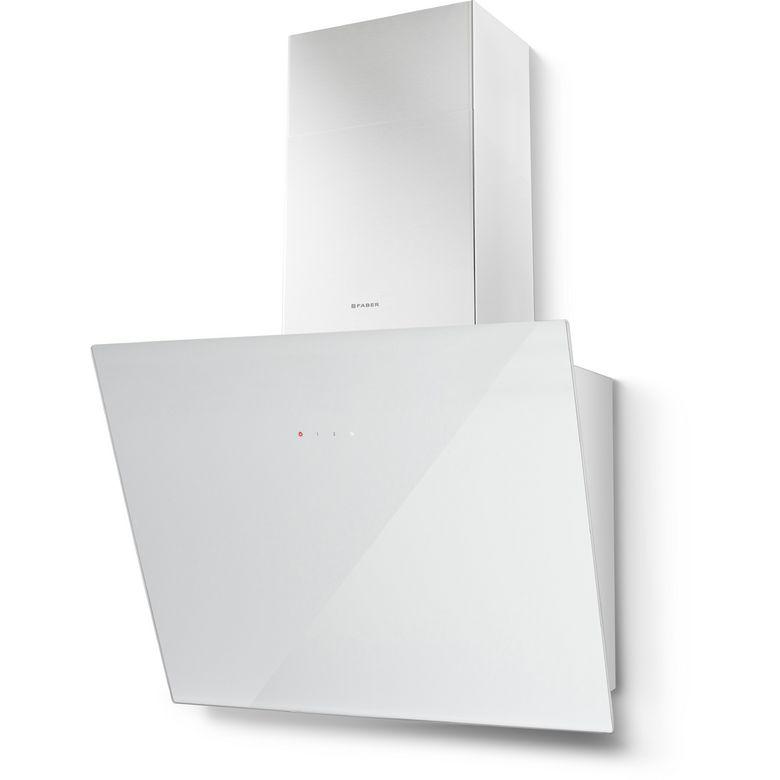 Hotte décor écran verre blanc Faber Tweet 5476157 l.55