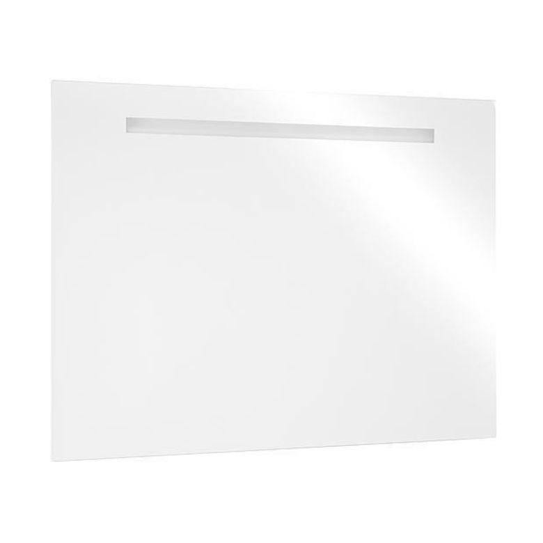 Miroir lumineux tube 60 salle de bains - Lapeyre miroir lumineux ...