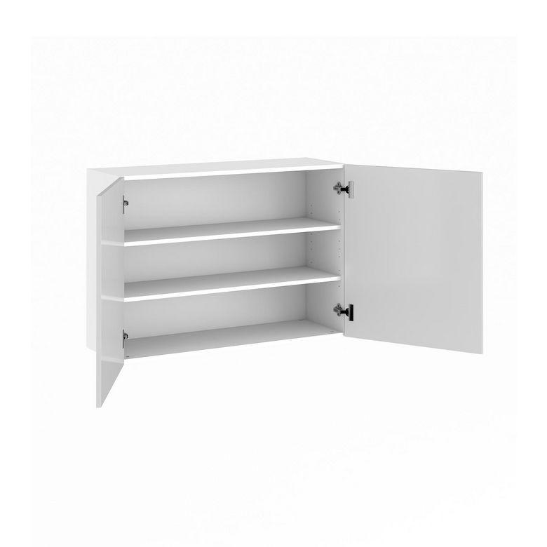 Meuble de cuisine haut 2 portes pleines cuisine for Portes meubles cuisine lapeyre