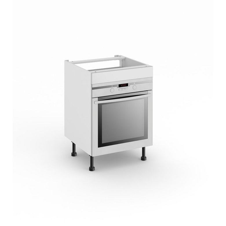 Meuble de cuisine pour four avec 1 faux tiroir haut cuisine - Meuble avec beaucoup de tiroirs ...