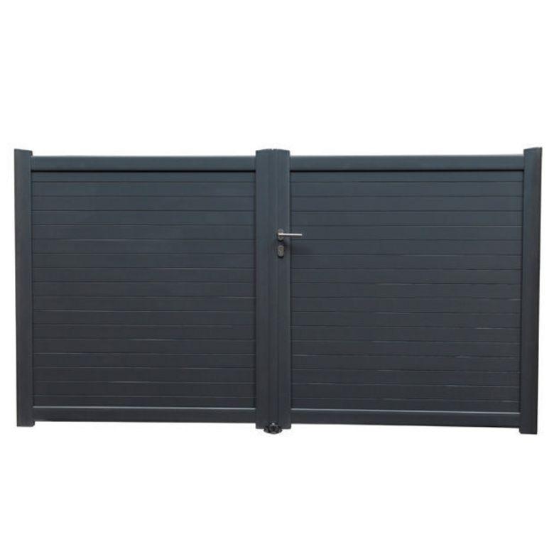 lapeyre portail aluminium id es de conception sont int ressants votre d cor. Black Bedroom Furniture Sets. Home Design Ideas
