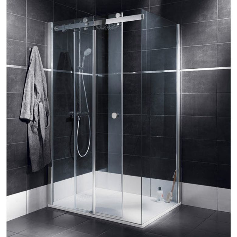porte de douche coulissante. Black Bedroom Furniture Sets. Home Design Ideas