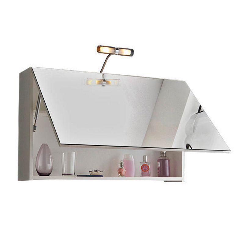 Armoire de toilette clara salle de bains for Porte miroir lapeyre