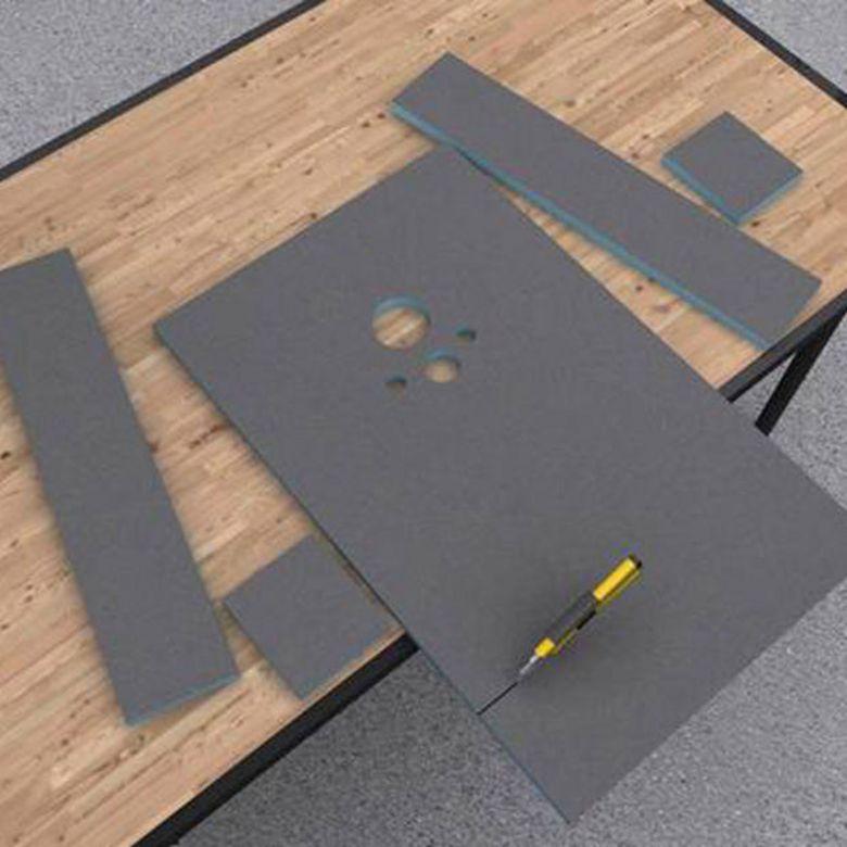 Panneaux carreler i board salle de bains for Panneau polystyrene extrude a carreler