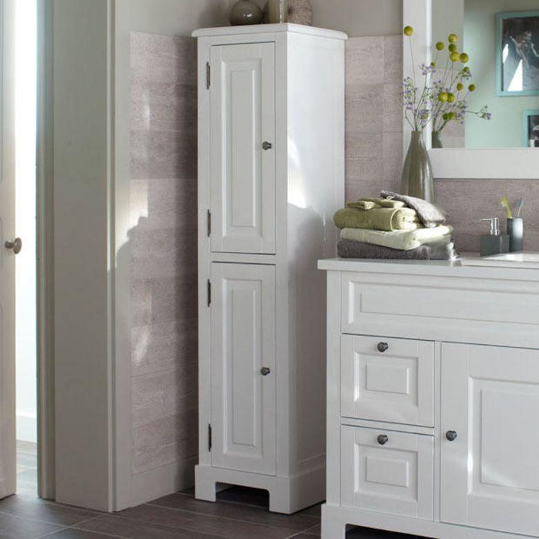 colonne de salle de bains cottage salle de bains. Black Bedroom Furniture Sets. Home Design Ideas