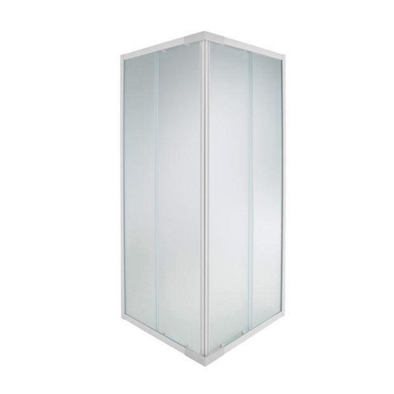 Acc s d 39 angle par porte coulissante nova salle de bains - Porte coulissante lapeyre verre ...