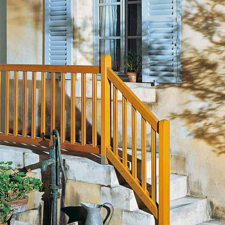 Balustrade bois ext rieur for Barriere exterieur en bois