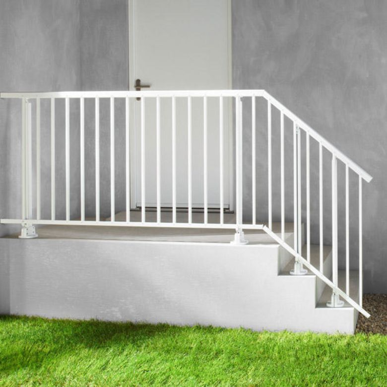 Balustrade aluminium ext rieur for Petit escalier exterieur