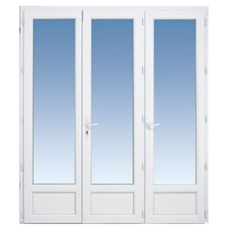 Porte fenetre pvc renovation lapeyre for Porte fenetre coulissante pvc