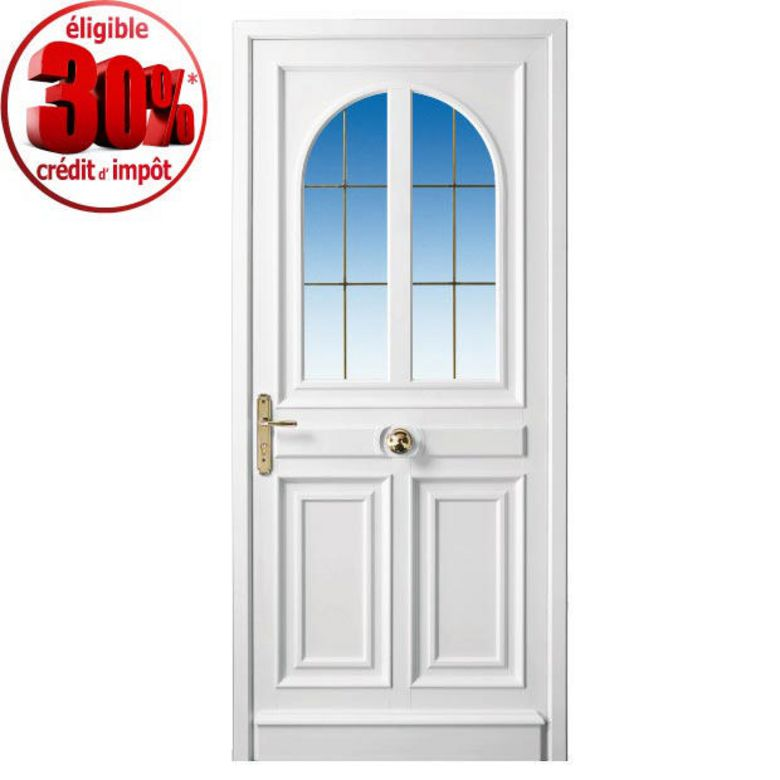 Porte d 39 entr e beauharnais pvc portes - Porte exterieur lapeyre ...