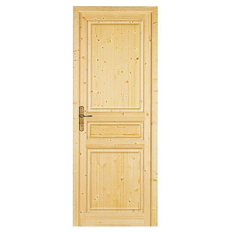 Bloc porte sp cial sapin massif portes for Porte 0 galandage lapeyre