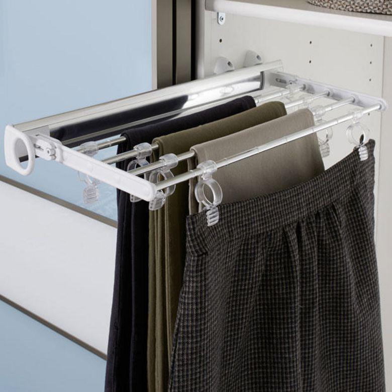 Porte pantalons pour am nagement espace rangements - Porte pantalon lapeyre ...