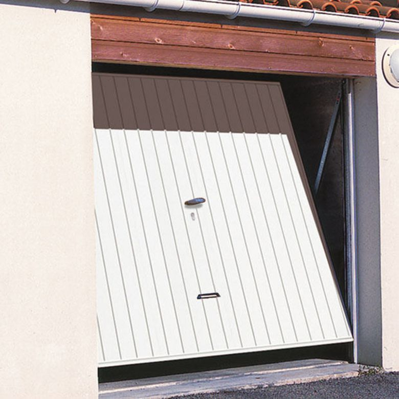 Porte de garage basculante non debordante for Porte sectionnelle garage 3m