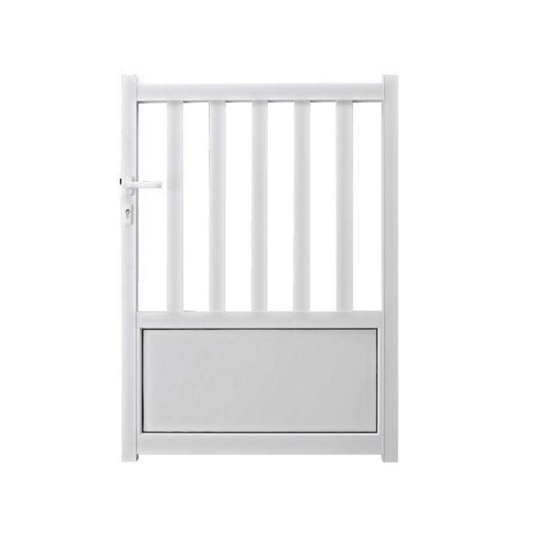 bien choisir un portillon aluminium pas cher conseils et prix. Black Bedroom Furniture Sets. Home Design Ideas