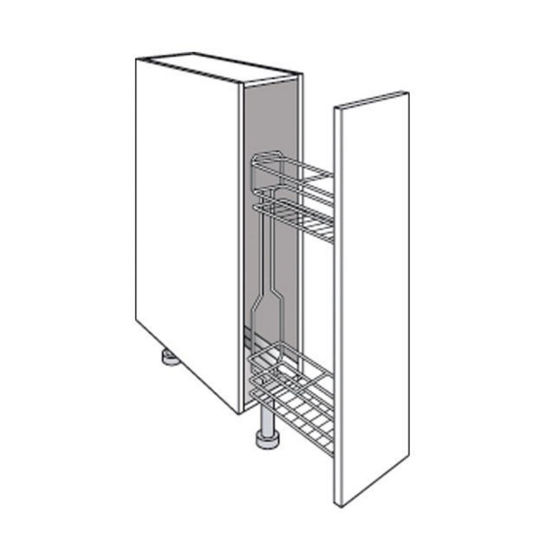 nette cuisine urban blanc lapeyre grille with meuble petit. Black Bedroom Furniture Sets. Home Design Ideas