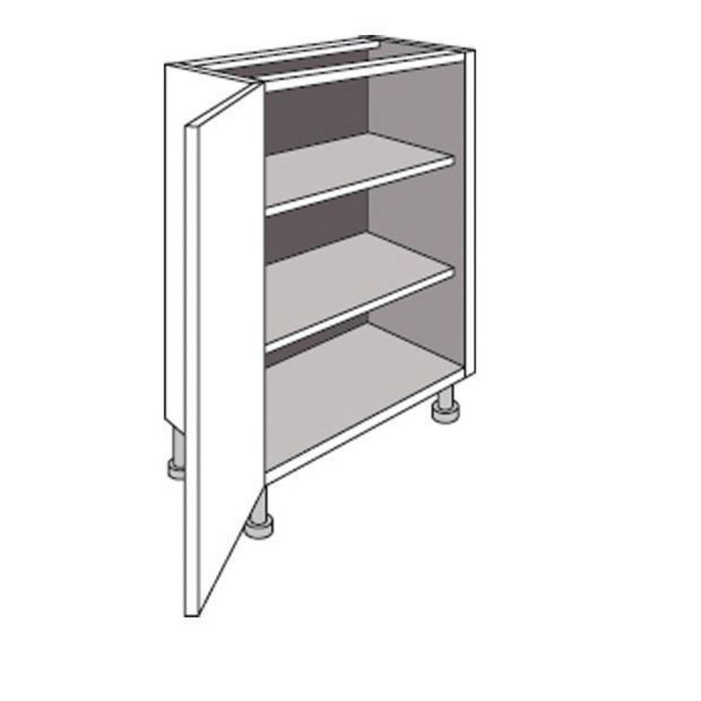 Meuble de cuisine bas faible profondeur 1 porte twist - Meuble bas petite profondeur ...