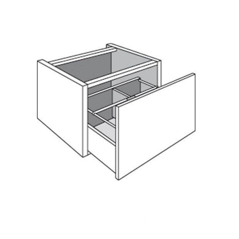 Meuble de cuisine 1 tiroir range casseroles banc suspendu - Banc tiroir range chaussure ...